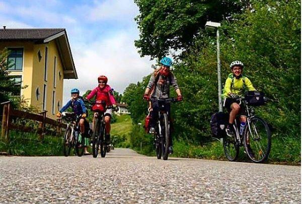 Radtour Pfingsten 2018 - Tag 1 - Startschuss am Ferienparadies Alpenglühn in Berchtesgaden