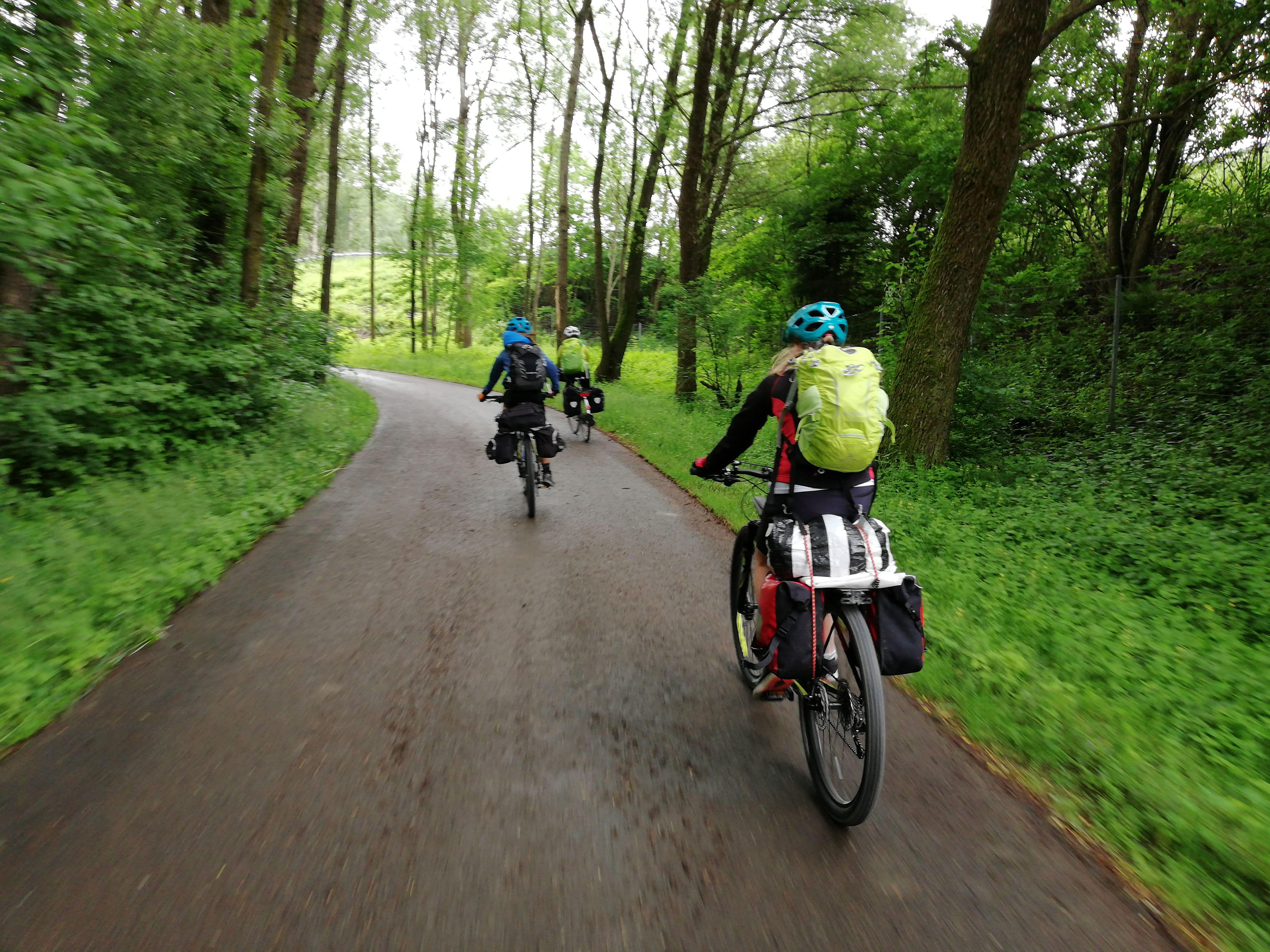 #VonBerchtesgadennachRijeka - Tag 3 - Drauradweg von Spittal nach Villach