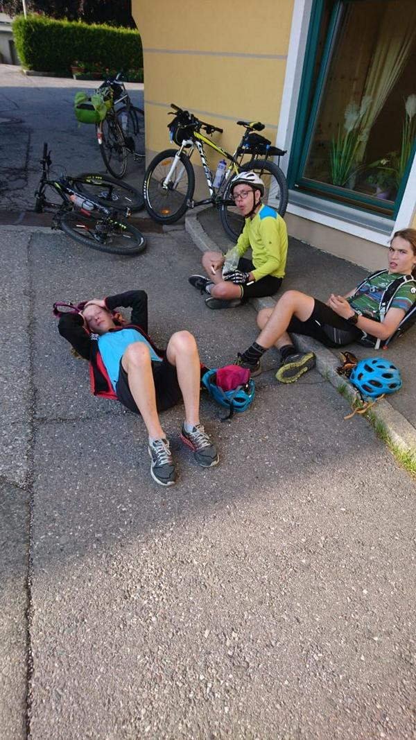 #VonBerchtesgadennachRijeka_Radtour_Pfingsten_Tag2 - Ankunft im Ertlhof am Millstätter See