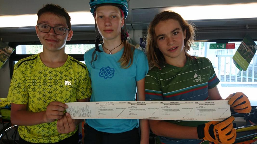 #VonBerchtesgadennachRijeka_Radtour_Pfingsten_Tag2 - Zugfahrt von Böckstein nach Obervellach