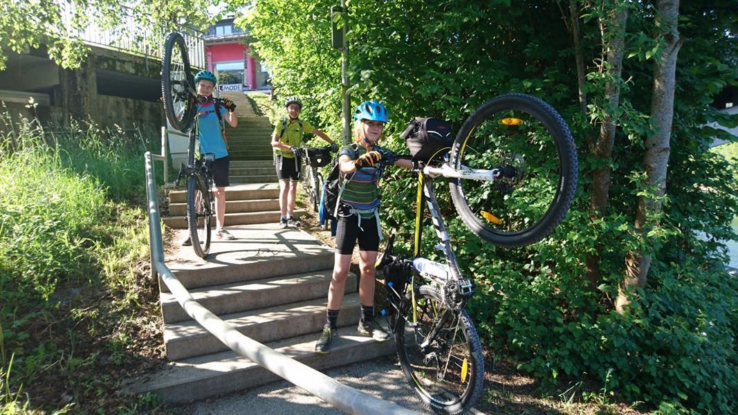 #VonBerchtesgadennachRijeka_Radtour_Pfingsten_Tag2 - Ab geht´s in das Gasteiner Tal