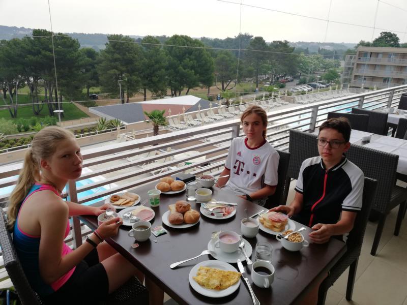#vonBerchtesgadennachRijeka - Tag 9 - Frühstück im Hotel Laguna Molindrio