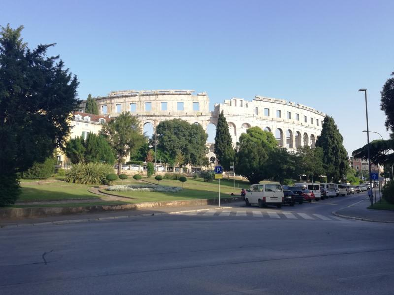 #vonBerchtesgadennachRijeka - Tag 9 - Amfiteater in Pula