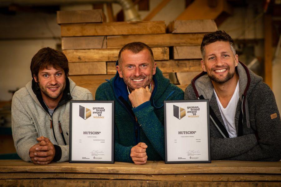 Hutschn - Ausgezeichnet mit dem German Brand Award (c)Hutschn