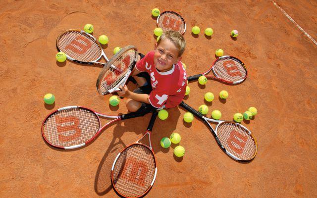 Sport- und Tennisferiencamps für Kinder (c)Hotel Quellenhof