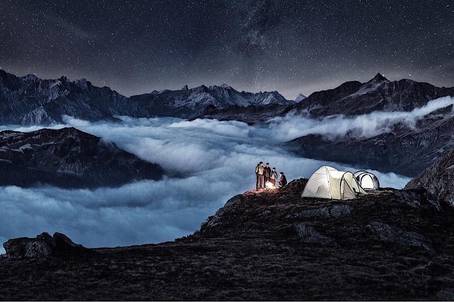 Alpines Campen - © Silvretta Montafon | Daniel Zangerl
