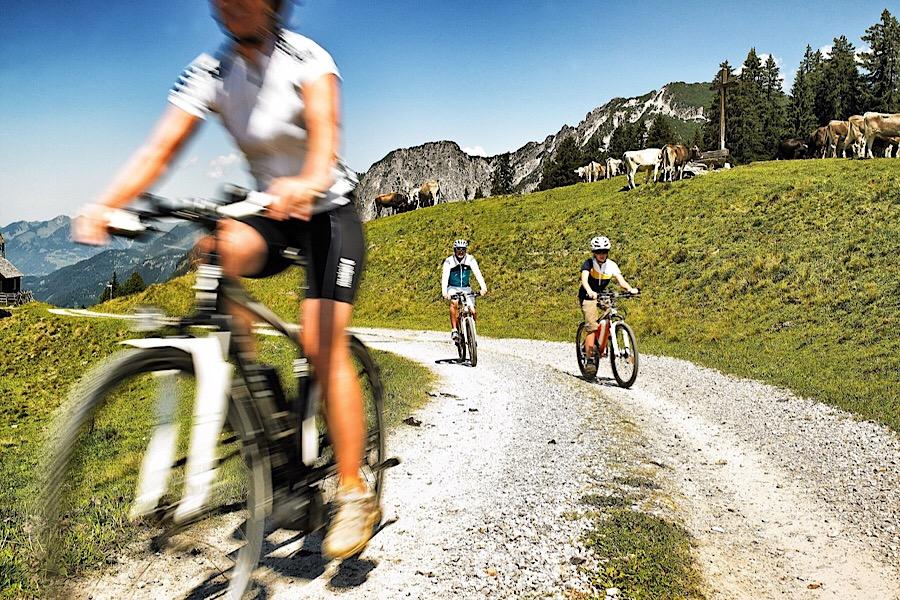 E-Bike Tour Alpe Nova - © Silvretta Montafon | Alex Kaiser
