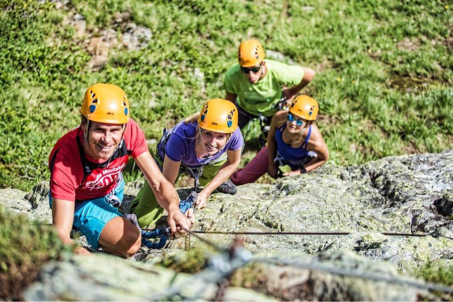 Einführung ins Klettersteiggehen - © Silvretta Montafon | Stefan Kothner