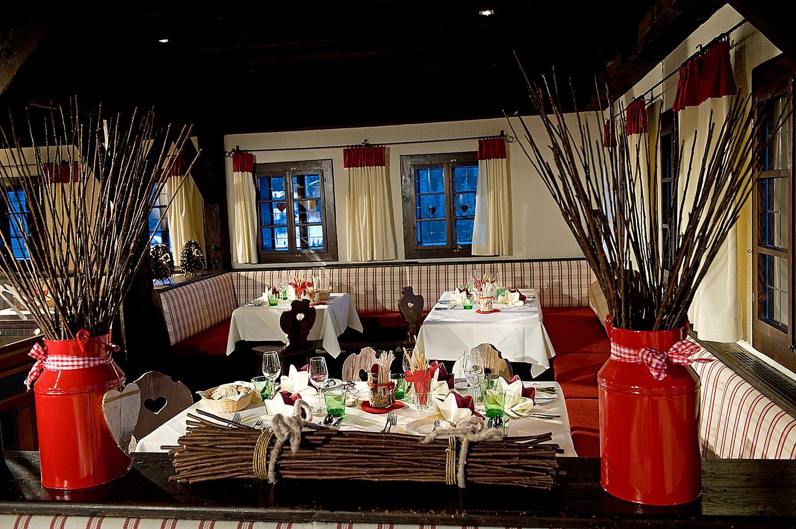 Restaurant im Feriendorf Kirchleitn (c)kirchleitn.com