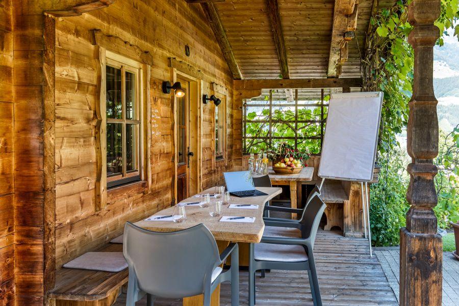 Gartenhotel Crystal Gartenhütte (c) Günter Standl