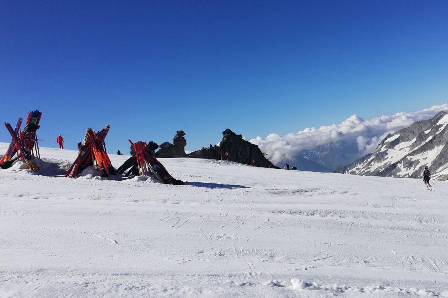 (c)be-outdoor.de - Sommertraining am Hintertuxer Gletscher
