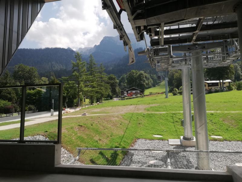 Jennerbahn - Von der Talstation zur Mittelstation