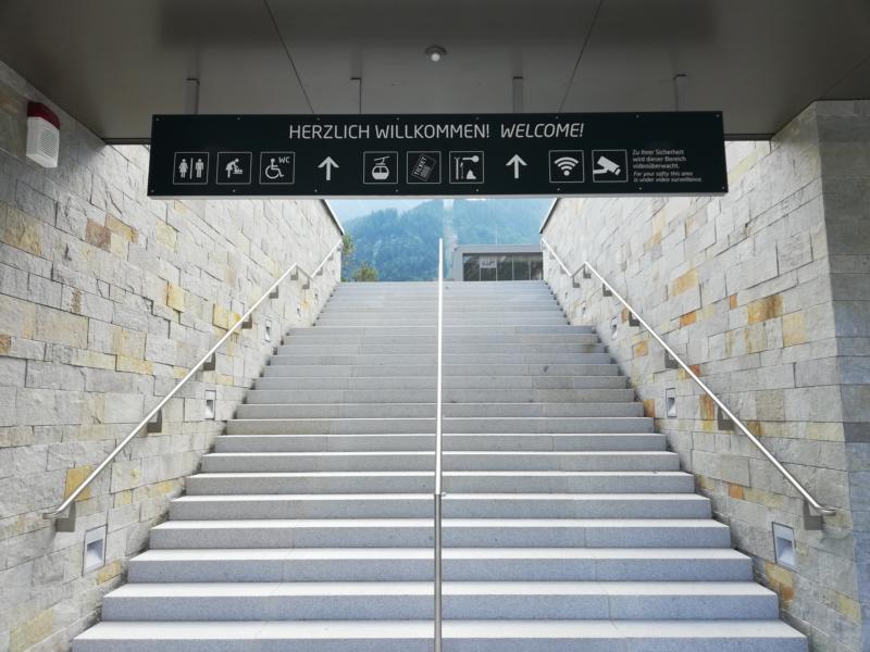 Jennerbahn - Eröffnung bis zur Mittelstation