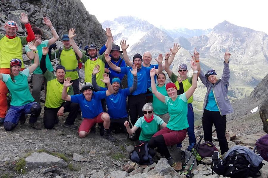 Alpenüberquerung © Alpinschule Garmisch