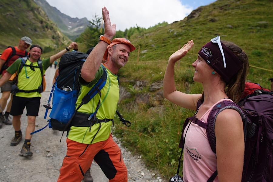 Alpenüberquerung Garmisch © Angelika Warmuth