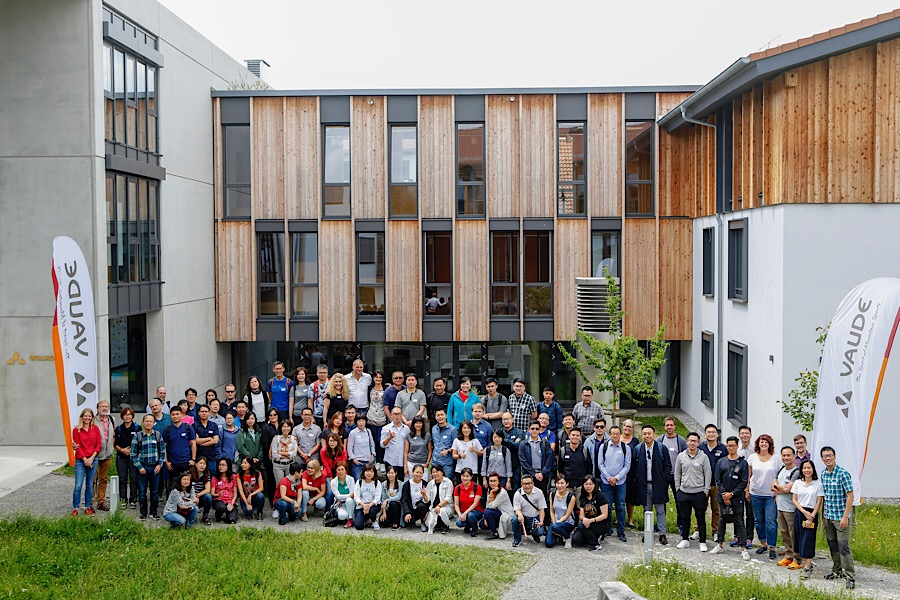 Treffen mit strategischen Produzenten und Lieferanten am VAUDE Hauptsitz in Tettnang © Vaude