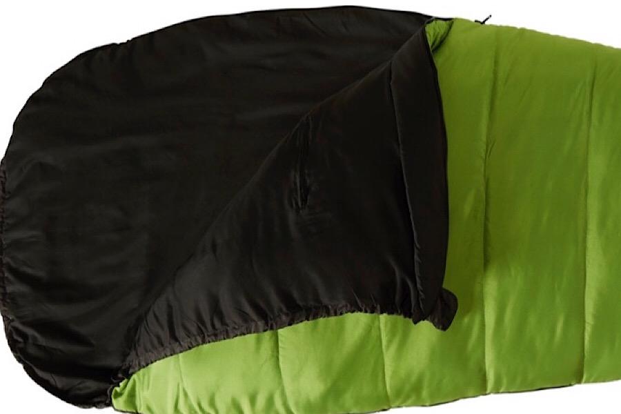 Mumienschlafsack Puk von Nordisk in zwei Wärmestufen