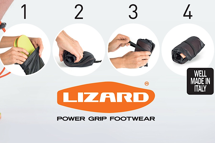 How to roll up - Lizard Roll up Sandals © Lizard