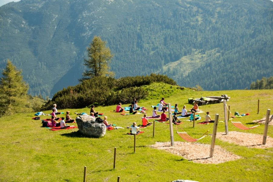 Zauchensee: Yoga auf 2.000m Höhe