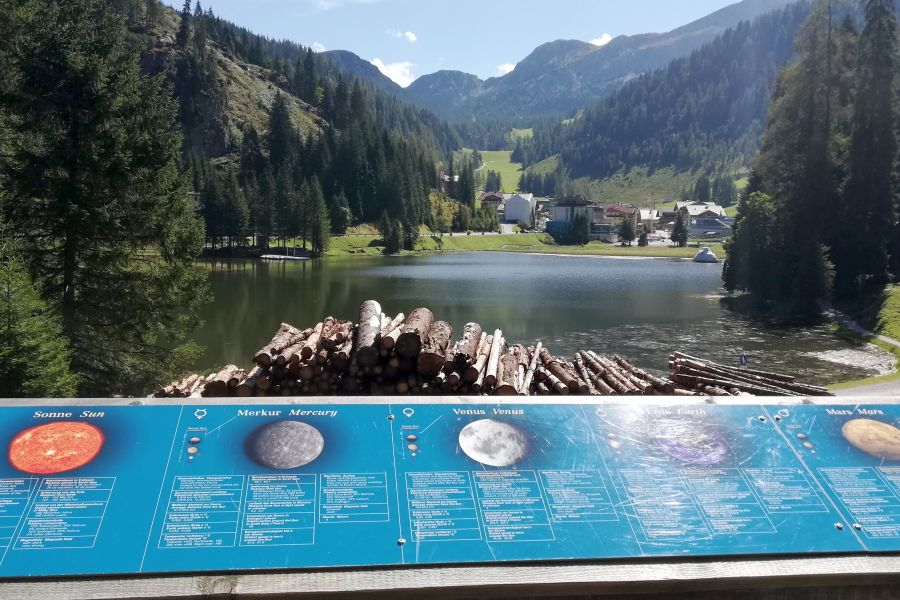 Zauchensee - Besuch auf dem Mondweg