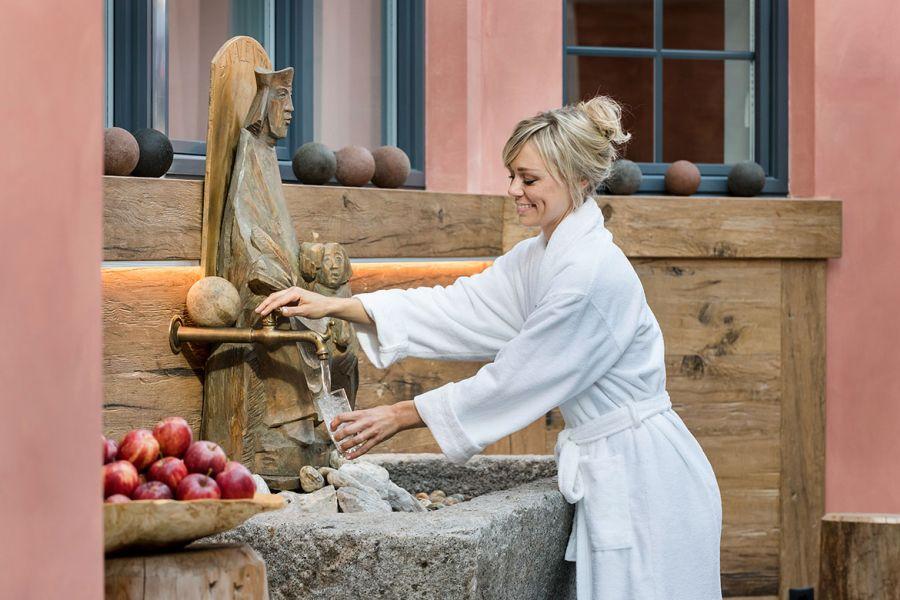 Quellbrunnen - Dolomites Spa Resort Bad Moos in Sexten (c)Bad Moos