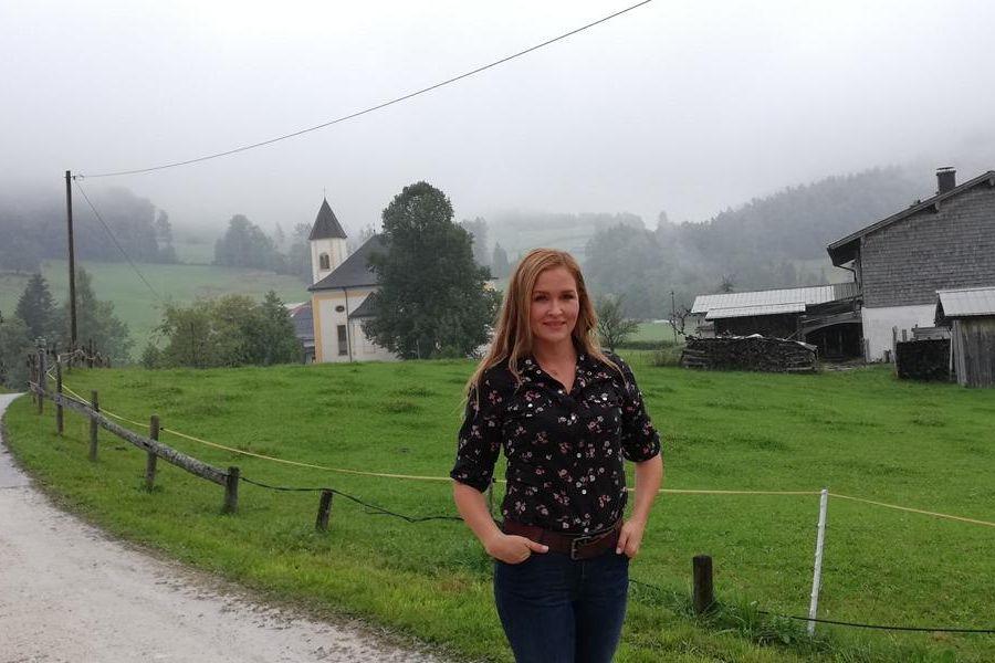 """Interview mit Judith Hoersch - der """"neuen"""" Lena Lorenz bei Dreharbeiten im Sommer 2018"""