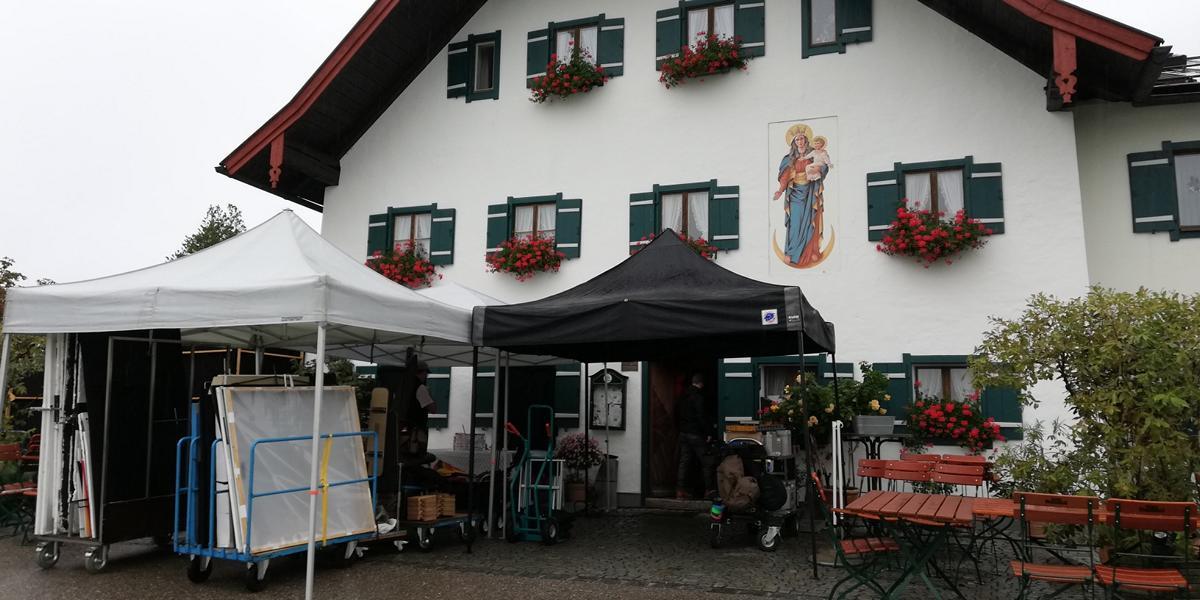 Lena Lorenz - Bei den Dreharbeiten zu den neuen Folgen von Lena Lorenz im Messnerwirt