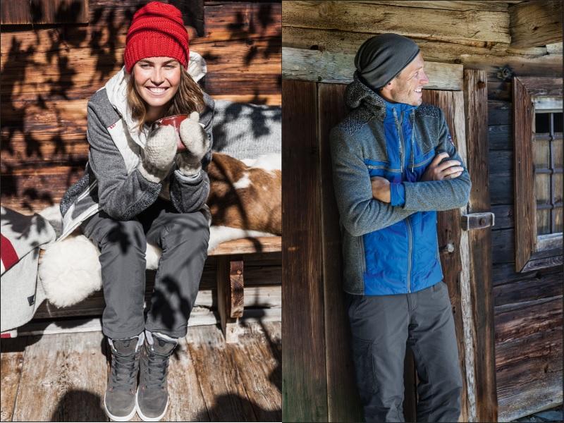 Die Winterkollektion 2018/2019 von Schöffel kommt skandinavisch und farbenfroh (c)Schöffel