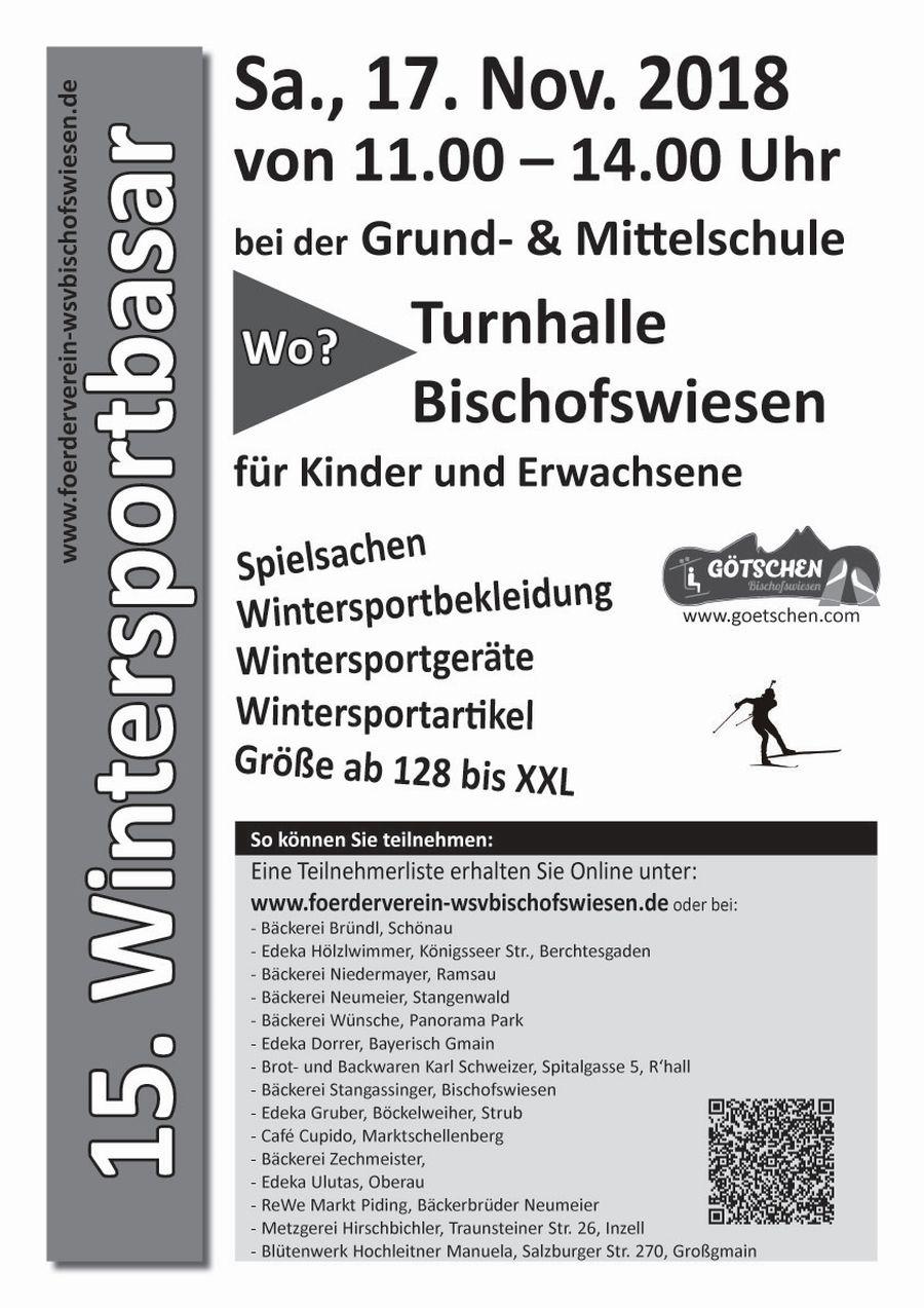 Wintersportbasar vom WSV Bischofswiesen