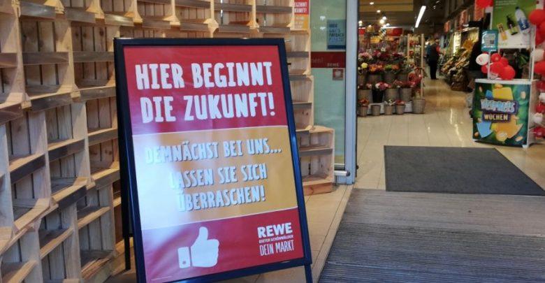 Rewe Dieter Schönwälder - Plastikfrei mit Grünkunft