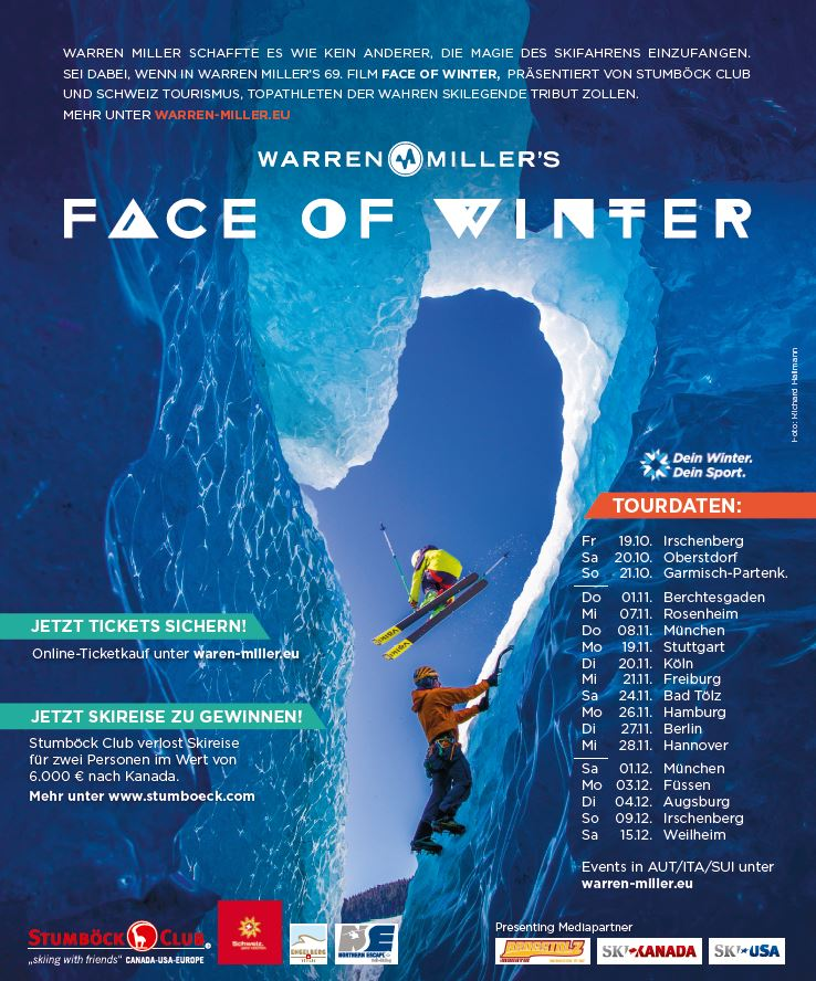 "Warren Miller ""Face of Winter"" - Ticket-Gewinnspiel (c)Warren Miller"