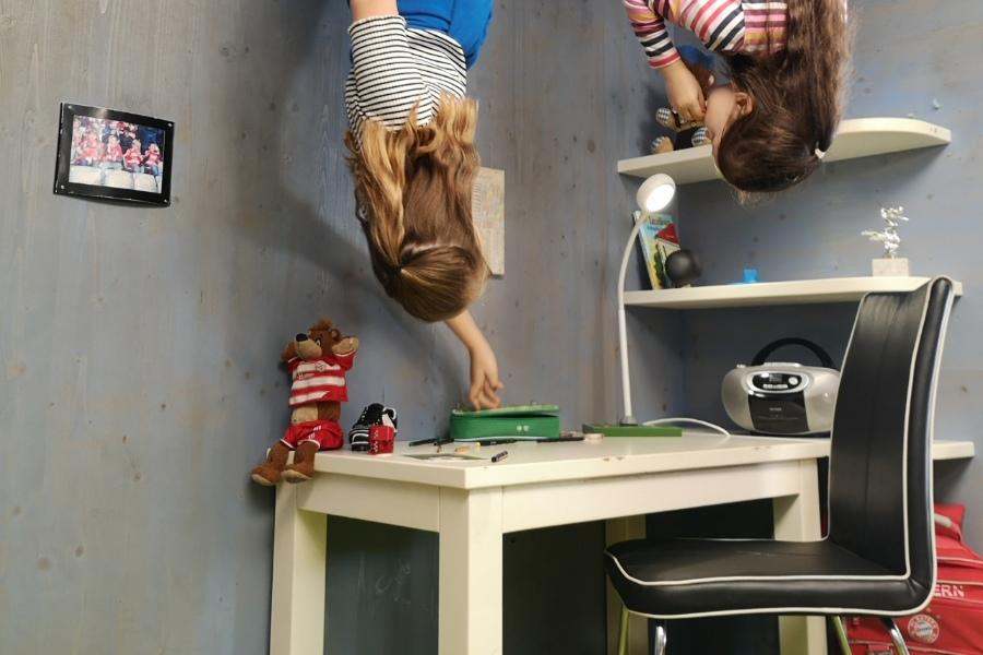WaldWipfelWeg - Haus am Kopf - Kinderzimmer ©be-outdoor