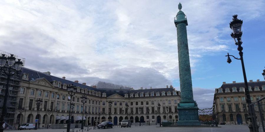 Paris - Kaffee im Hotel Ritz gefällig?