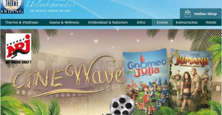 Photo of Cinewave in der Therme Erding
