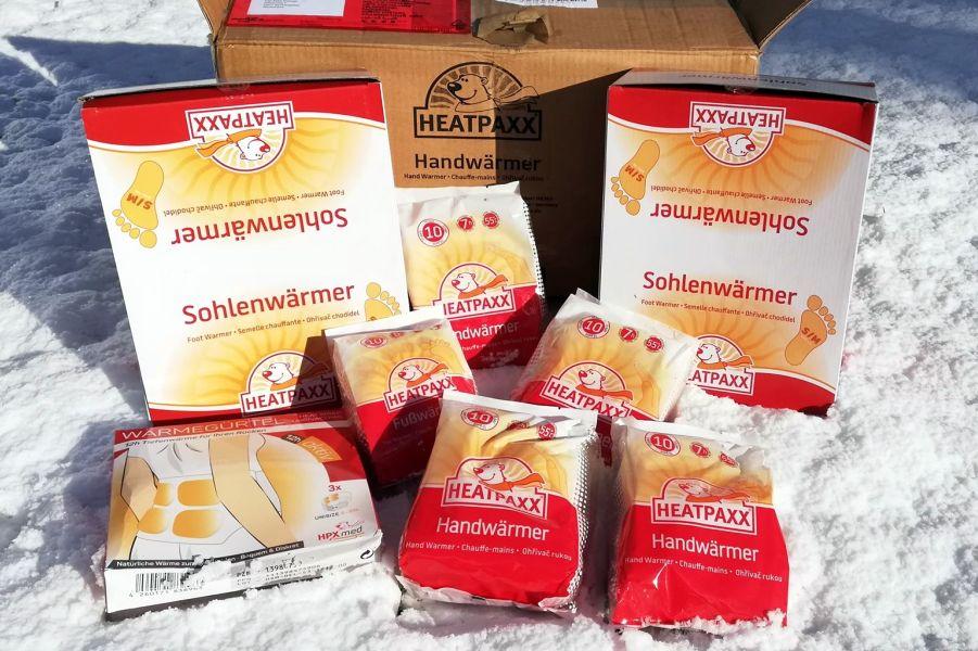 (c)be-outdoor.de - Heatpaxx Wärmepads