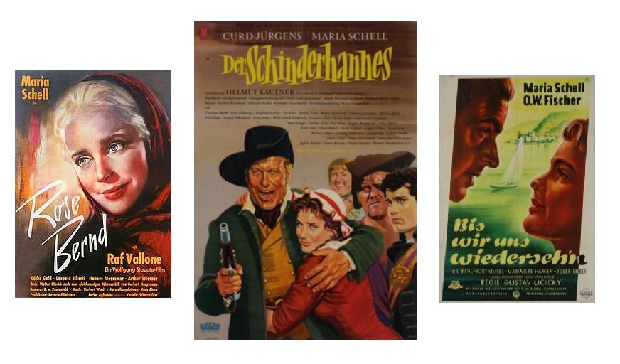 (c)Kollage Filmplakate - Rose Bernd/Der Schinderhannes/Bis wir uns wiedersehen