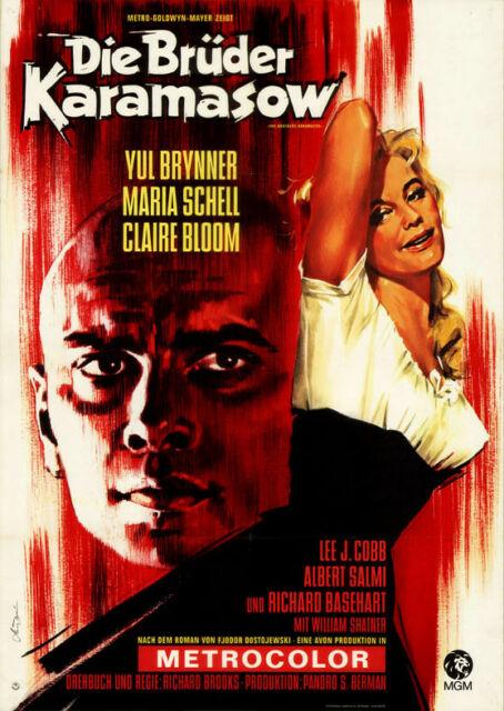 (c)Filmplakat - Die Brüder Karamasov