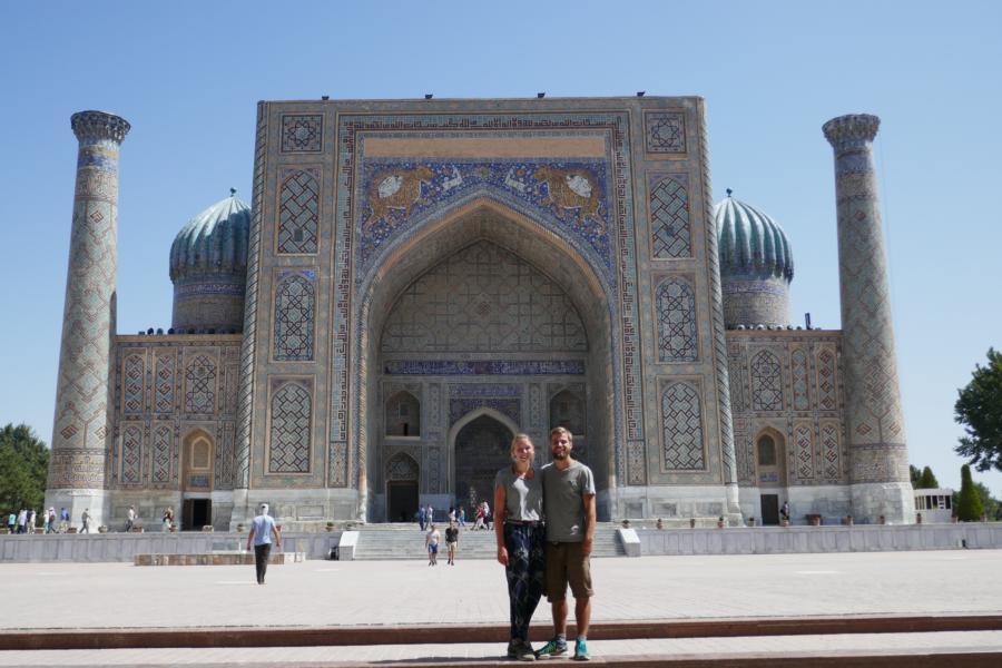 Reisetagebuch Elena und Mateo - Registan (Samarkand)