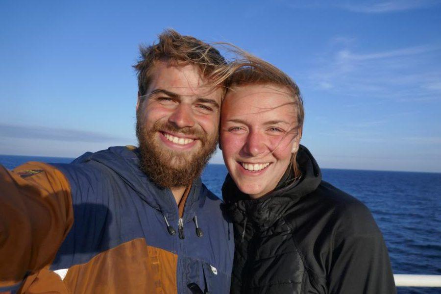 Reisetagebuch Elena und Mateo - mit der Fähre von Kasachstan nach Aserbaidschan