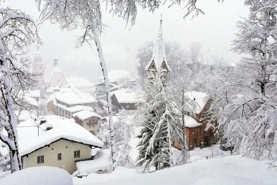 Winter in Berchtesgaden