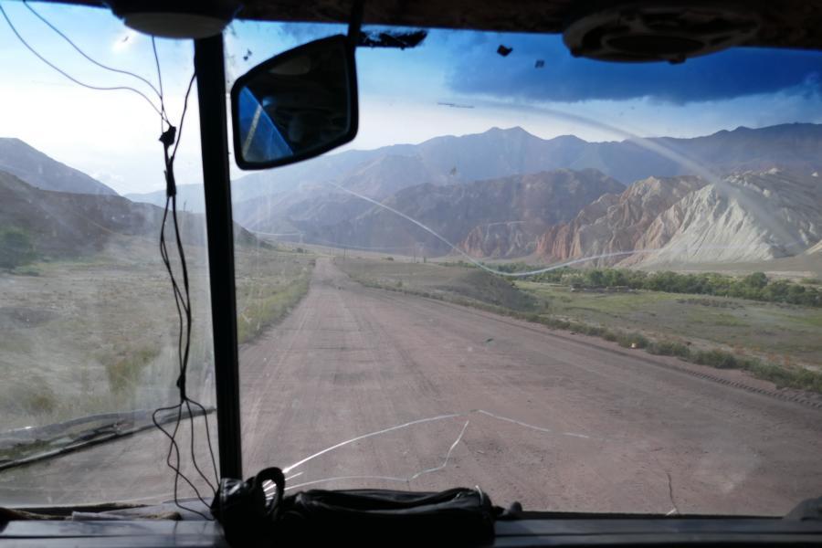 Reisetagebuch Elena und Mateo - auf dem Weg nach Kyzyl Oi