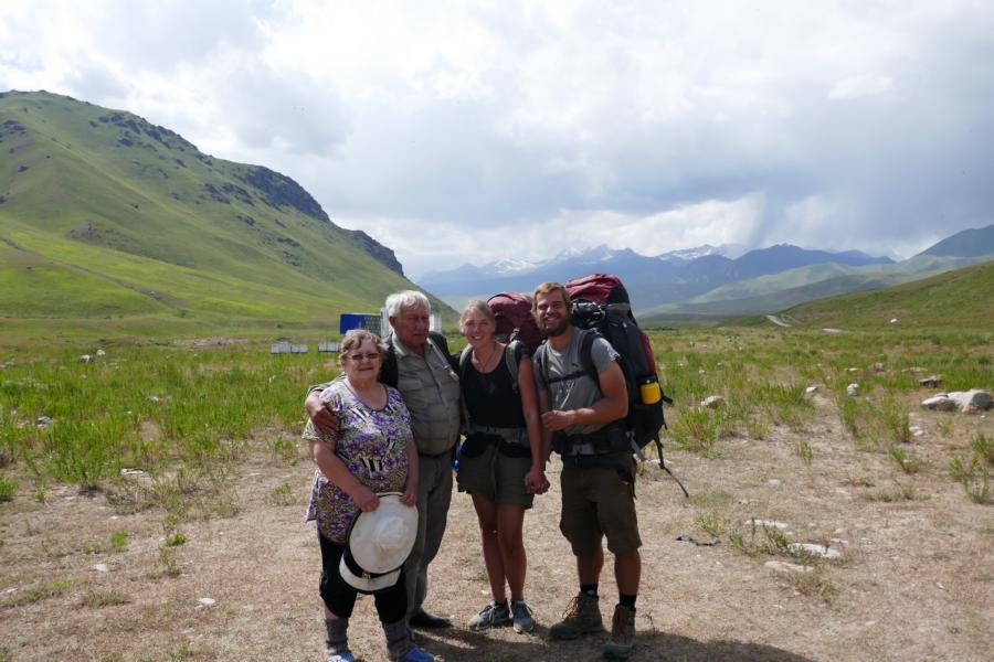 Reisetagebuch Elena und Mateo - mit Olga und Sergej