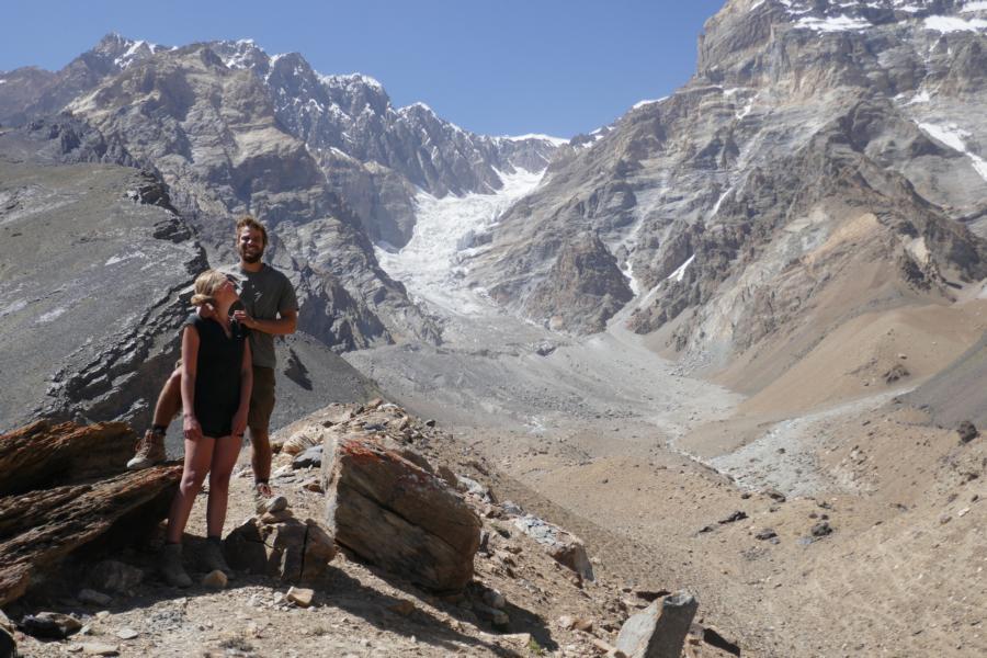 Reisetagebuch Elena und Mateo - Bartang Valley (Roshov), Gletscher-Wanderung