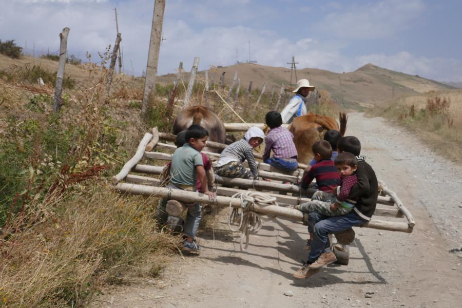 Reisetagebuch Elena und Mateo - die Nord-Route nach Duschanbe