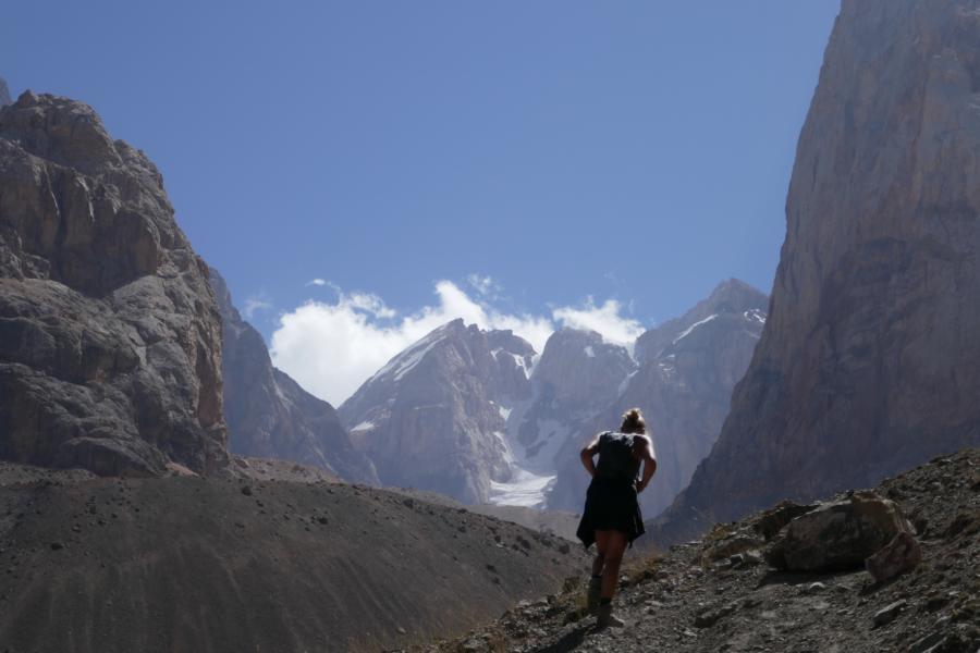 Reisetagebuch Elena und Mateo - Mehr-Tages-Wanderung im Fann-Gebirge