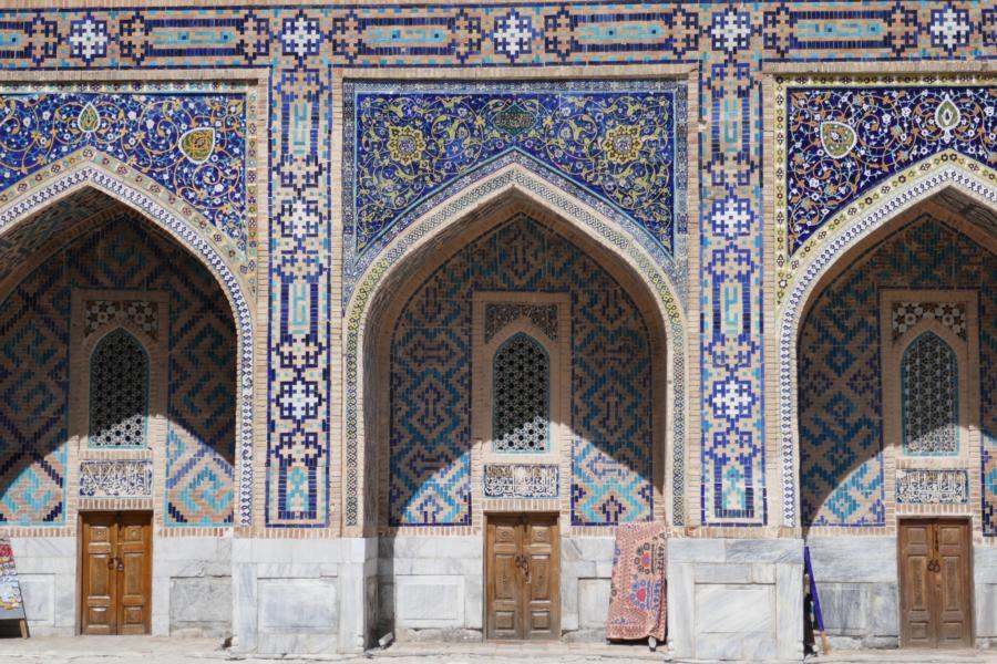 Reisetagebuch Elena und Mateo - Samarkand