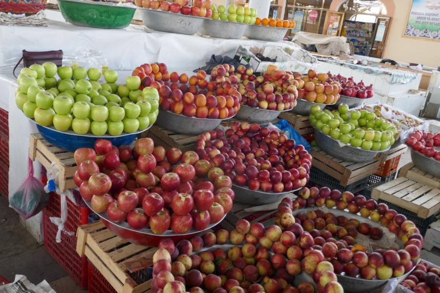 Reisetagebuch Elena und Mateo - Bazar in Buchara
