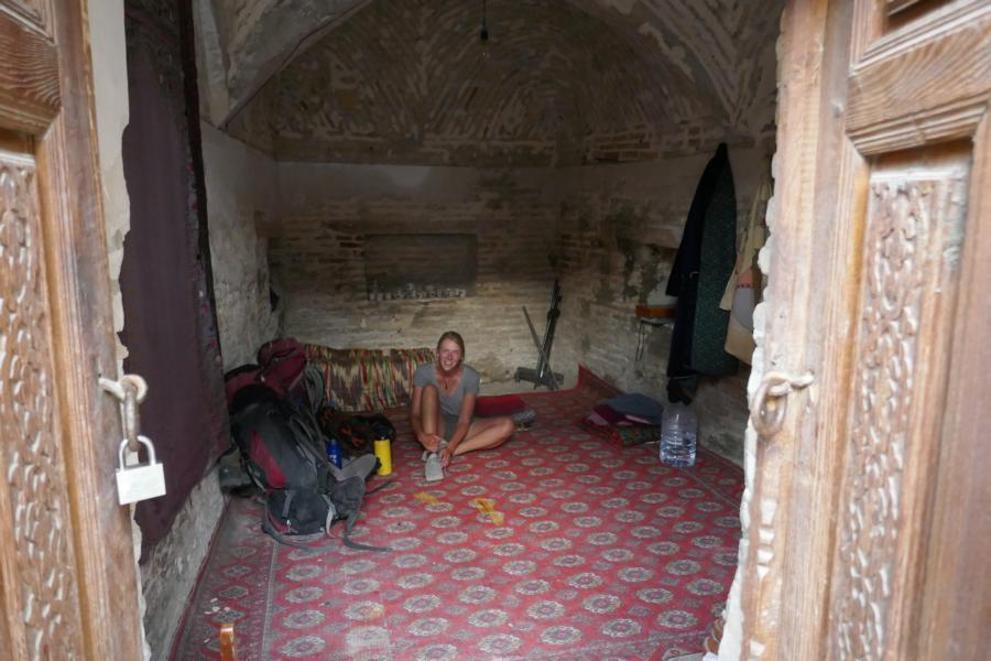 Reisetagebuch Elena und Mateo - Unsere Unterkunft in Buchara