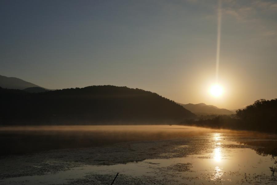 Reisetagebuch Elena und Mateo - Nohor Gölü See bei Qabala