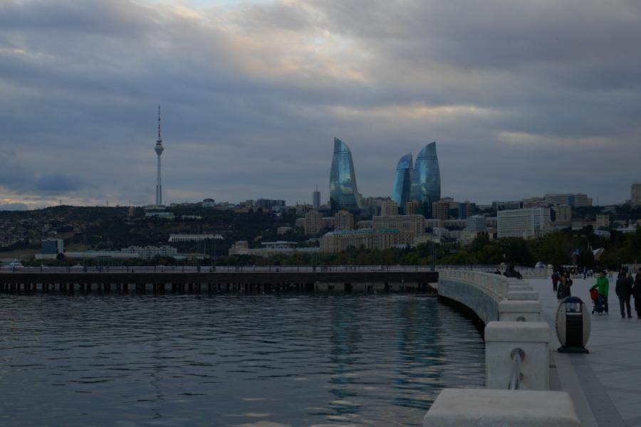 Reisetagebuch Elena und Mateo - Hafen Baku